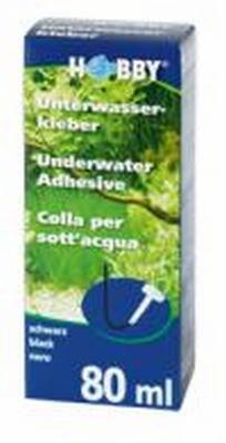 Onderwaterlijm zwart mini koker  80 ml